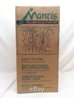 Mantis 2-cycle Motoculteur Classic 7228 Nouveau