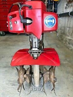 Mantis 7222 Tiller/cultivator'99 2cyclegas Org Propriétaire Petit Cheval De Bataille Fonctionne Bien
