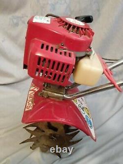 Mantis 7222m 2-cycle Gaz Mini Tiller Rototiller Cultivateur Pour Pièces Ou Réparation