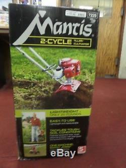 Mantis 7225-00-02 Cultivateur De Mini-extracteur À Gaz À 2 Cycles, (neuf Dans La Boîte)