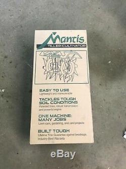 Mantis 7920 Cultivateur 2 Gaz Cycle Powered Jardin Tiller Neuf Dans La Boîte