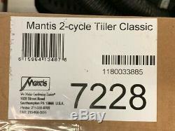 Mantis / Cultivateur À Essence À 2 Temps 2128 Mantis 7228