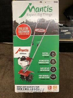 Mantis Motoculteur / Cultivateur Moteurs 4 Temps 25cc Honda (7268) Neuf Scellé