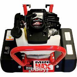 Maxim Mini Max Tiller / Cultivateur 7/13 / 16in Tilling Largeur 35.8cc Honda Gx35