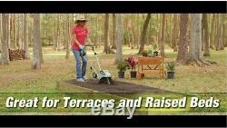 Mini Cultivateur De Motoculteur De Jardin Avec Cordon Électrique De 8,5 A, Sol De Labourage