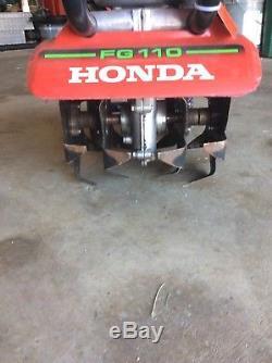 Mini Motoculteur / Cultivateur Honda Fg110 À 4 Temps, Gaz, 25cc