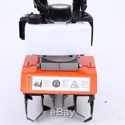 Mini Motoculteur Motoculteur Motoculteur À Essence 2 Temps De Travail Du Sol Outil Moteur 52cc