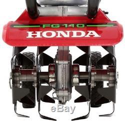 Mini Motoculteur-motoculteur Honda 9 Po 25cc 4-cycle À Avance Moyenne Gaz Tournant Vers L'avant