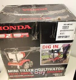 Mini-motoculteur-cultivateur À Essence À Rotation Avant À 9 Dents De 25 Cm, 4 Temps, Honda