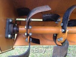 Motoculteur 3 Pt Woods Ts52 5 Pi Correspond À Un Mini Tracteur Kubota Great Condition John D