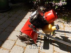 Motoculteur / Cultivateur Rotatif À 2 Temps Kioritz De Mantis Garden Roto (travail)