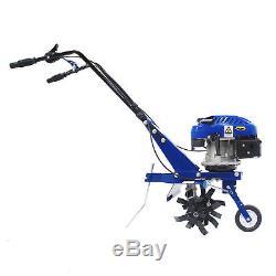 Motoculteur D'essence Cultivateur Rotovator Recharge Hyundai 3.4hp 139cc 4 Temps T140