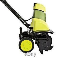 Motoculteur Et Cultivateur De Jardin Électrique Sun Joe Tj601e (certifié Remis À Neuf)
