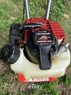 Motoculteur Mantis Avec Cultivateur / Rotavator De Jardin 4 Temps Honda Gx25