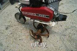Motoculteur Robuste À Essence Honda F501