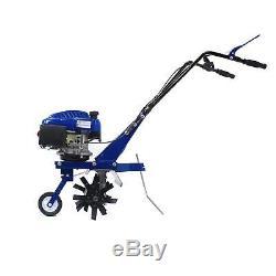Motoculteur Rotovator Cultivateur Essence Garden Hyundai 3.4hp 139cc 4 Temps 1