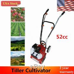 New52cc 2 Temps Monocylindre Sol Essence Essence Mini Ferme Cultivateur
