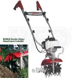 Nouveau Dans La Boîte De Luxe 2 Mantis 7234-15-02 Cycle De Gaz Démarrage Rapide Tiller Cultivateur