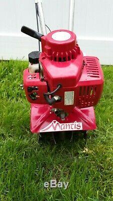 Nouveau Mantis Sv-5ci / 2 Motoculteur / Cultivateur À Dents Avant 2 Cycles
