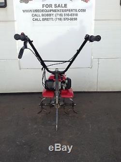 Occasion Honda F220 21 Roto Motoculteur Pelouse Jardin Cultivateur MID Tine Gaz Rototiller