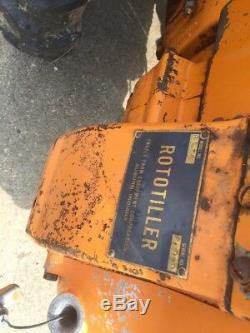 Paire De 2 Frazer Rototillers Vintage Rototiller Roto Tiller