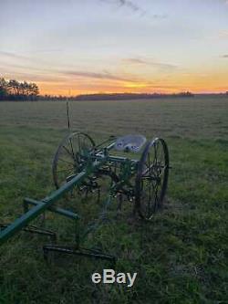 Pioneer Homesteader Hippomobile Charrue Cultivateur