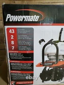 Powermate 10. 43cc Gaz 2-cycle Cultivateur Pcv43