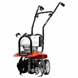 Powermate Pcv43 Cultivator 10 Poignée De Labourage Réglable À 2 Cycles De Gaz 43cc