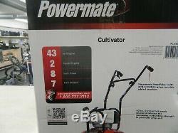 Powermate Pcv43 Cultivator 10 Poignée De Pliage De Labour Réglable À 2 Cycles Et 43 Essences