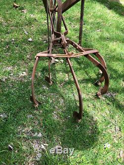 Rare Antique Handiman Cultivateur Cultivator Garden Farm Condition Awesome
