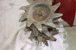 Rototiller De Jardin Culture Mantis 2 Cycle. Le Modèle 7225 02-03 Fonctionne / Se Coupe