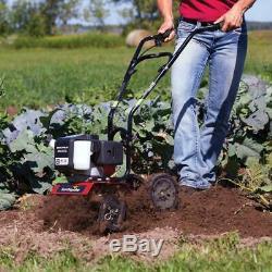 Séisme Mc43 Cultivateur Lawn Garden Tiller Avec Déchaumeuse Et Edger Kit
