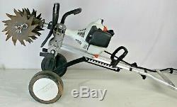 Stihl Mm55 Barre / Cultivateur Barre 27cc Jardin Paysage