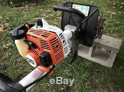 Stihl Mm55 Barre / Cultivateur Barre Légèrement Utilisée