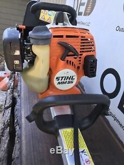 Stihl Mm55 Barre / Cultivateur Barre Légèrement Utilisée / Barre Rapide Fast -27cc Tiller