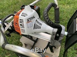 Stihl Mm56c Barre / Cultivateur Barre Légèrement Utilisée / Barre Fast -27cc Tiller