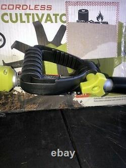 Sun Joe 24v-tlr-lte Garde Sans Fil Tiller + Cultivateur 24-volt 2.0 Ah