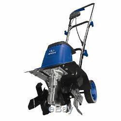 Sun Joe Tj602e-sjb Électrique Jardin Tiller / Cultivateur, Bleu 12 Pouces 8 Amp