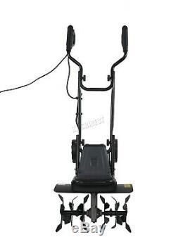 Switzer Électrique Tiller Rotovator Cultivateur Terreau Rotavator Te02 1400w