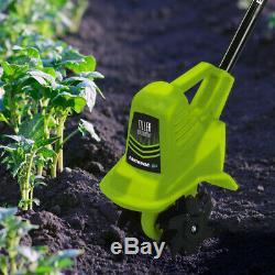 Tiller Cultivateur Sans Fil 20 Volts Électrique Outils De Jardin Avec Chargeur De Batterie