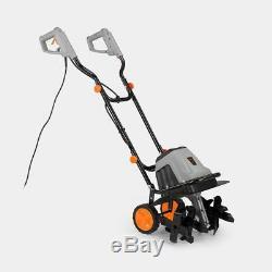 Tiller Rotovator Sol Cultivateur Électrique 1400w 6 Les Lames En Acier 10 Mètres De Câble