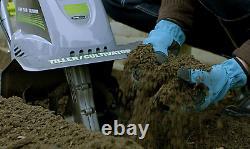 Tilleur Électrique / Cultivateur Cordé Tc70001 11 Pouces 8,5 Ampères