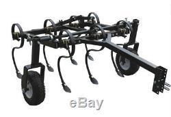Tine Cultivator 4 Ft Largeur De Coupe Beton Vtt Et Utv Tracteur Compact