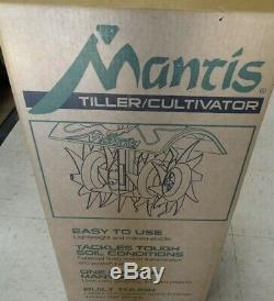 Tout Neuf Mantis 2-cycle Tiller Cultivateur 7920 Nouveau Ultraléger En Boîte