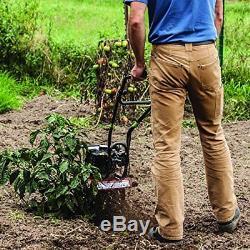 Tremblement De Terre 22255 Mc25 Mini Cultivateur Cultivateur Avec Moteur Viper 2 Temps 25cc, 5