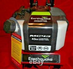 Tremblement De Terre 29769 Mc43 Cultivateur Combo Avec Edger & Déchaumeuse