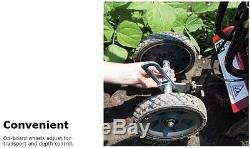 Tremblement De Terre 43cc 2-cycle Viper Moteur Léger Démarrage Manuel Mini-cultivateur