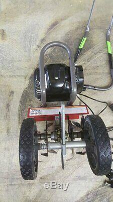 Tremblement De Terre Cultivator 12802 Mc440 Mini Avec Moteur Viper 4 Temps 40cc