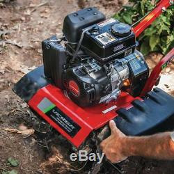 Tremblement De Terre Rototiller Versa Cultivator Compact Smooth Pull Recoil Gas 99cc Outil