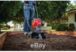 Troy Bilt Gaz Cultivateur Terreau 9 Pouces 25cc 2 Les Capacités Cycl Jumpstart
